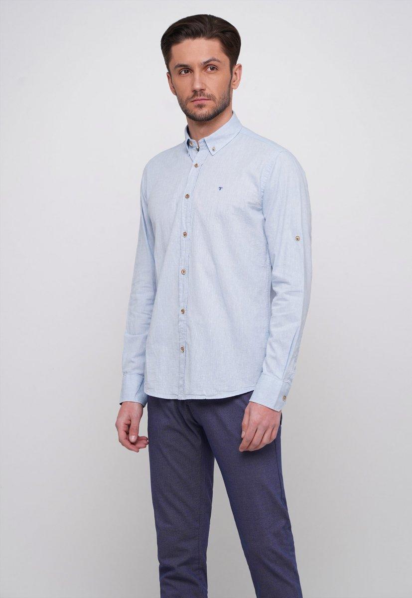 Рубашка Trend Collection 7000 Небесный