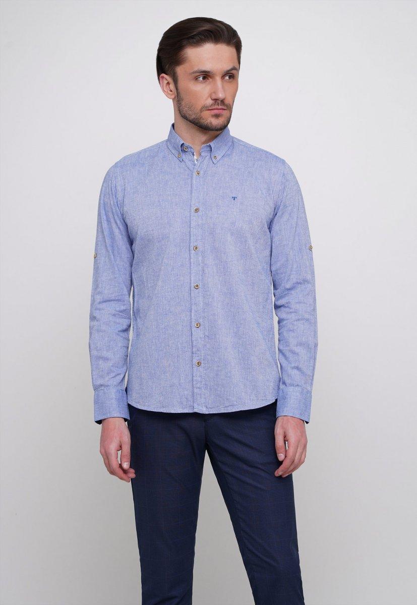 Рубашка Trend Collection 7000 Светло-синий