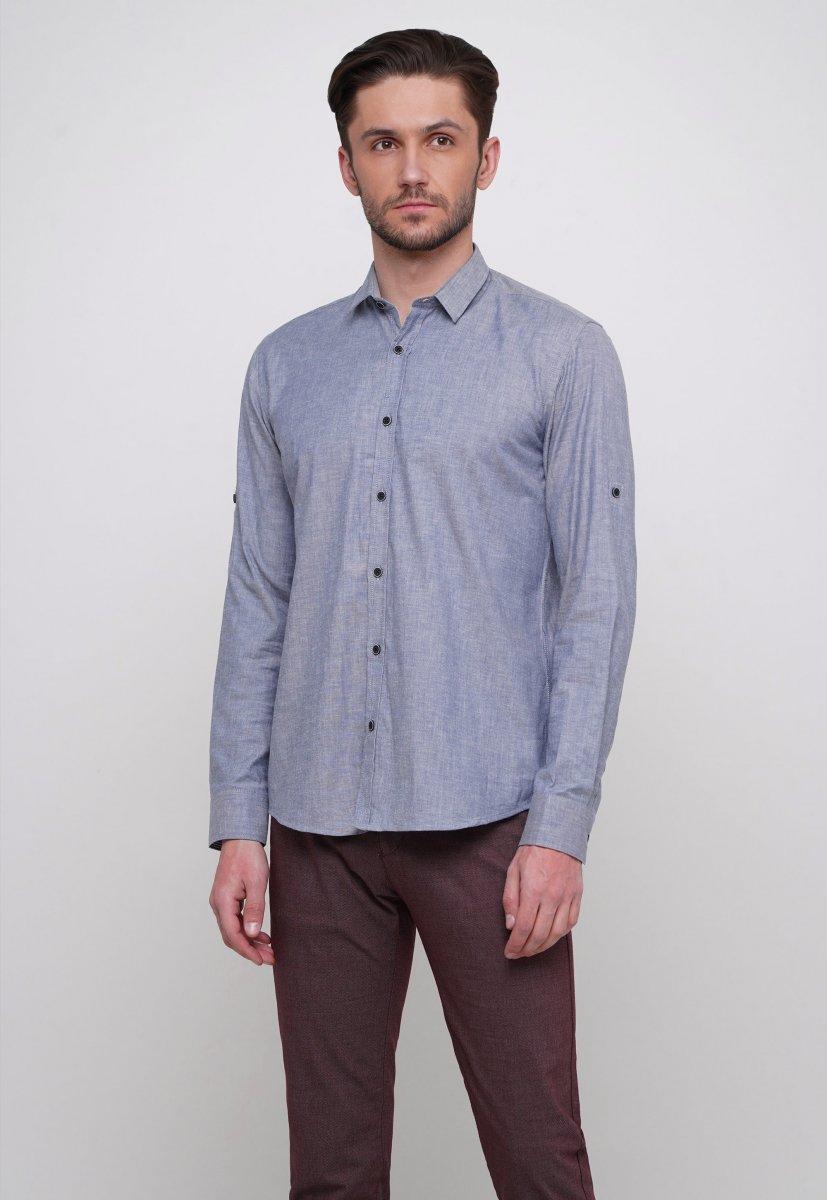 Рубашка Trend Collection 015 Синий