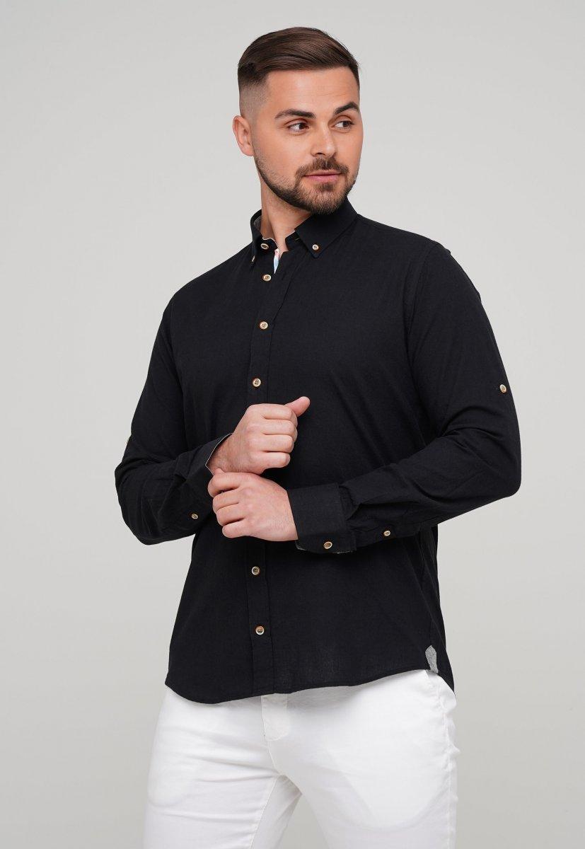 Рубашка Trend Collection 02-1001-1 Черный