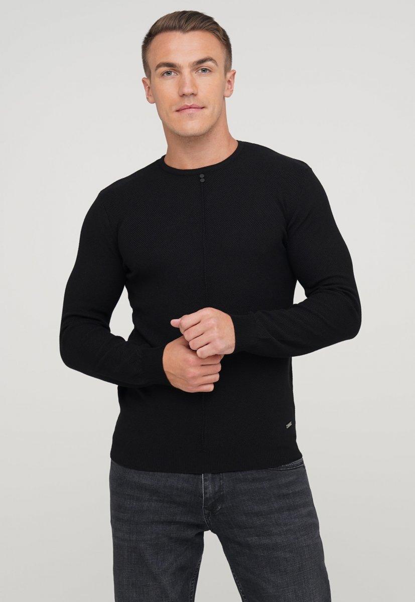 Свитер мужской Trend Collection 68107 Черный