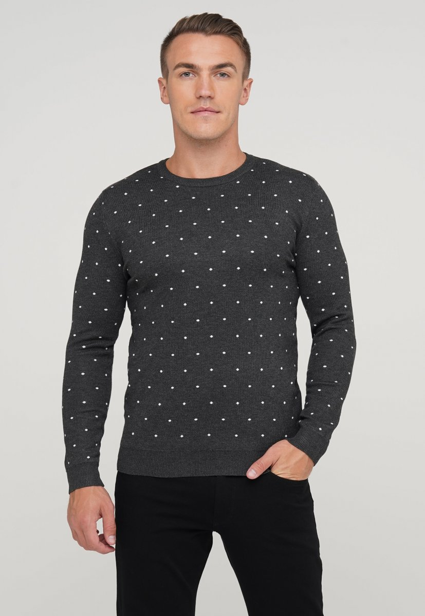 Свитер мужской Trend Collection 9673 Серый