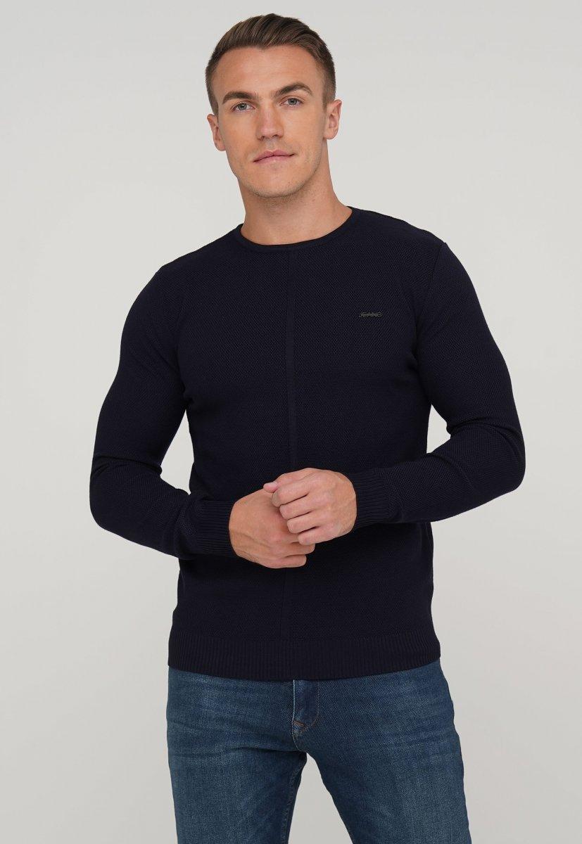 Свитер Trend Collection 3118 Темно-синий