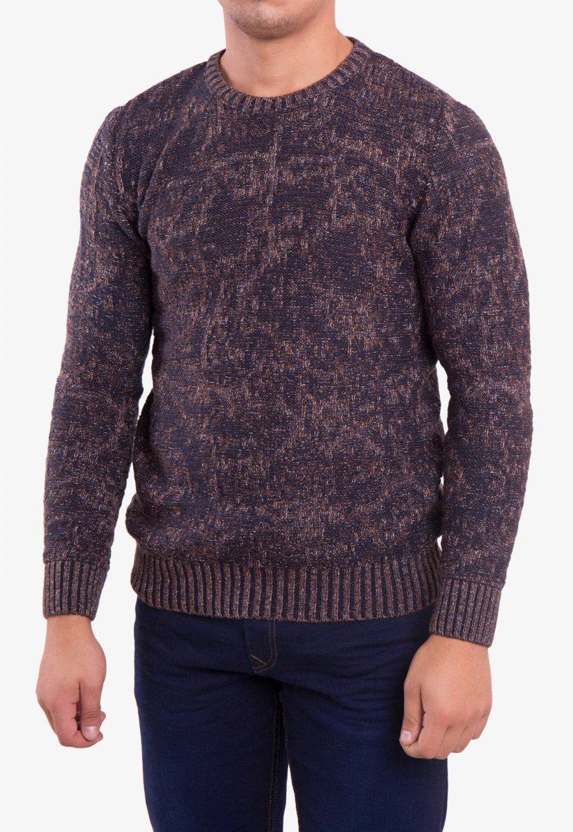 Свитер коричневый Trend 18906