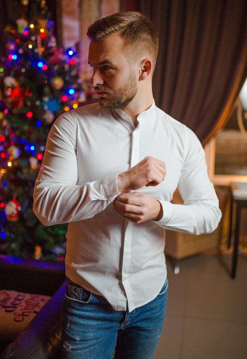 Белая рубашка Trend 02-1096