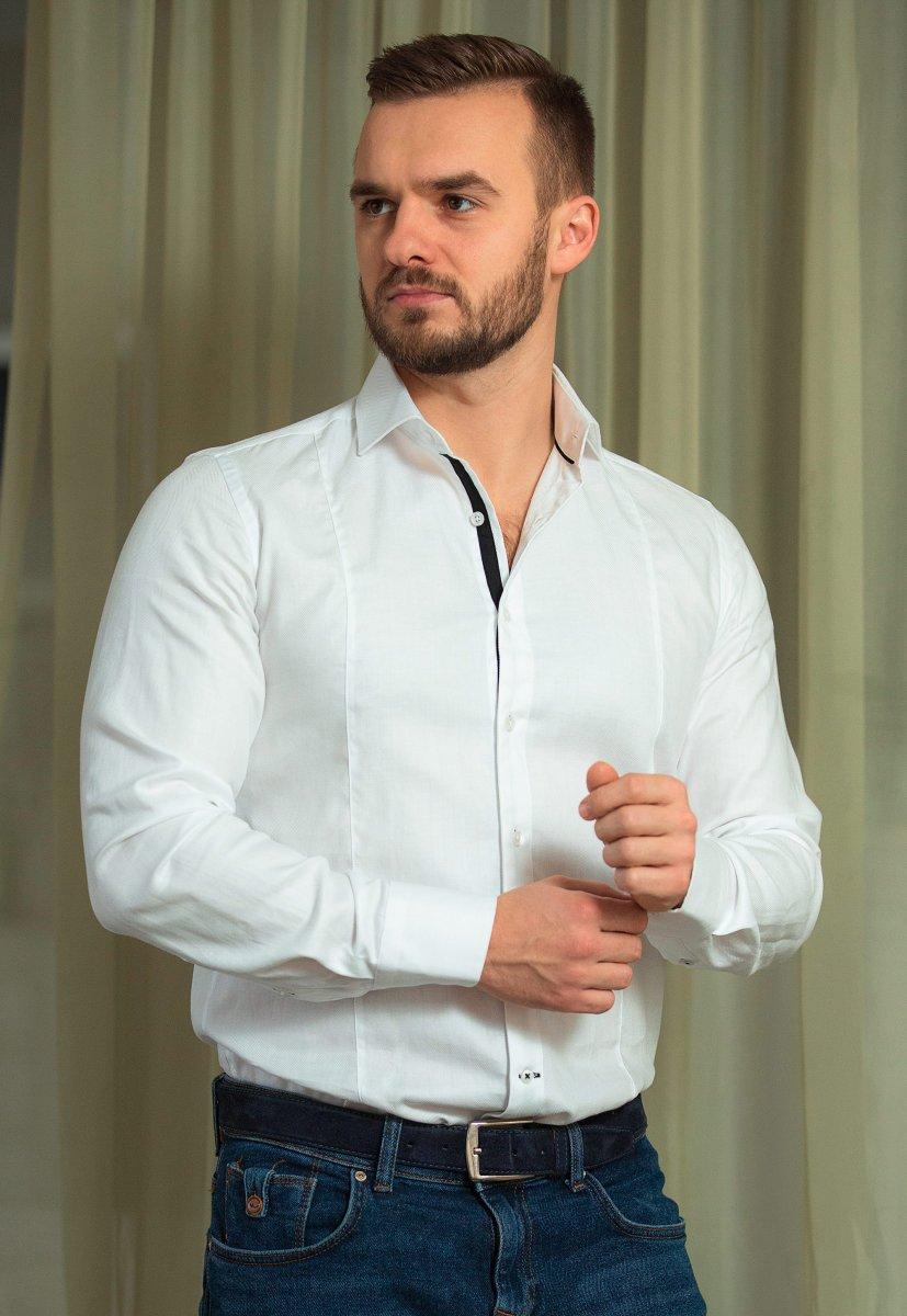 Белая рубашка Trend 02-531