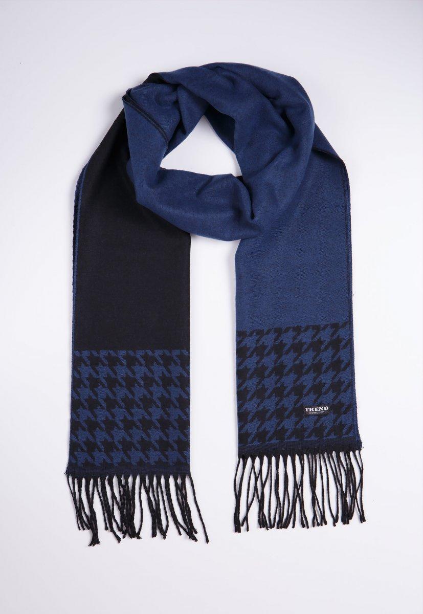 Шарф Trend Collection STK-13 Синий+черный