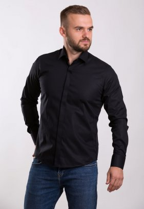 Рубашка TREND BAT 02-308 Черный