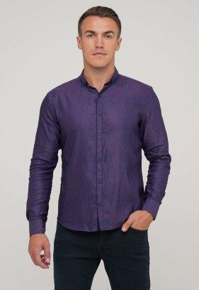 Рубашка Trend Collection BAT 20352 Бордо