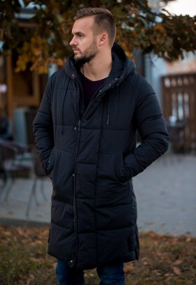 Куртка чорна TREND