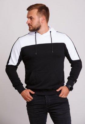 Худи Trend Collection 89001 Черный + белый капюшон
