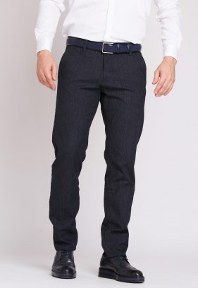 Брюки Trend Collection 12505 Темно-синий+полоска(LACI)