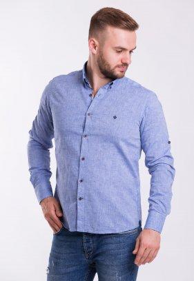 Рубашка TREND 02-1096 Синій