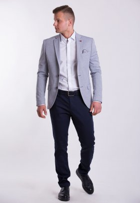 Мужской костюм (3820, G831, U02 - 1100)