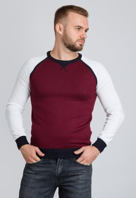 Свитер Trend Collection 99207 Красный+белый