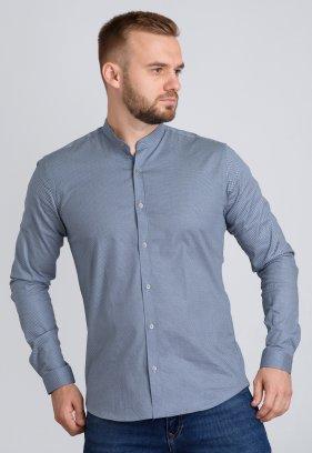 Рубашка Trend Collection U02-1047-20 Серый+точка