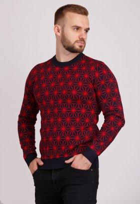 Свитер Trend Collection 19034 Черный+красный