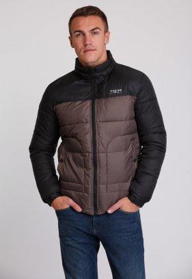 Куртка Trend Collection 20-36 Кофе+черный