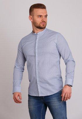 Рубашка Trend Collection 0807 Белый+синий