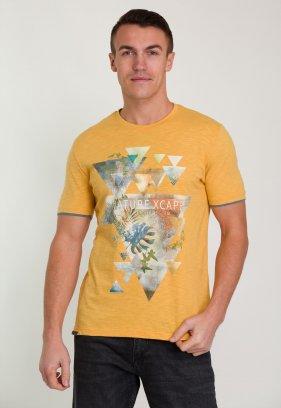 Футболка Trend Collection 8062 Оранж+треугольник