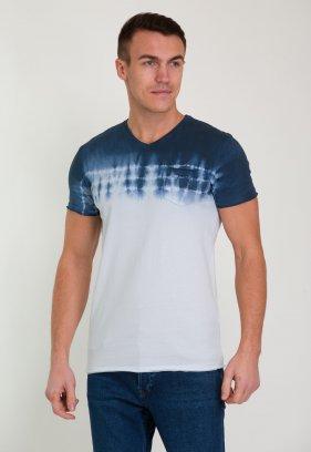 Футболка Trend Collection 012 Синий + белый