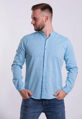 Рубашка Trend Collection U02-1105 Небесний