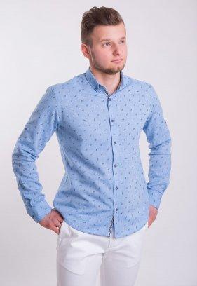 Рубашка TREND Небесный+очки (Dark Blue) 0004