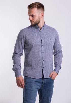 Рубашка Trend Collection 02-1096 Сірий
