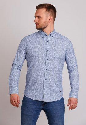 Рубашка Trend Collection 32273 Индиго