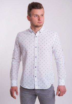 Рубашка TREND Белый+очки (White) 004