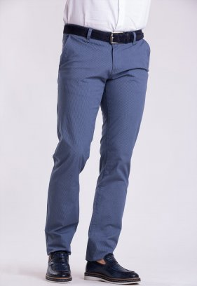 Брюки Trend Collection 12365 Св.синий + белая полоска (NAVY)