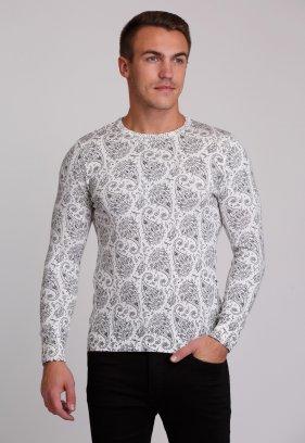 Свитер Trend Collection 0257 Белый+узор