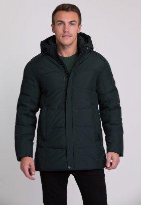 Куртка Trend Collection W09 Черный+зеленый №9