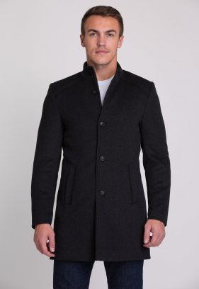 Пальто Trend Collection 515 Темно-серый