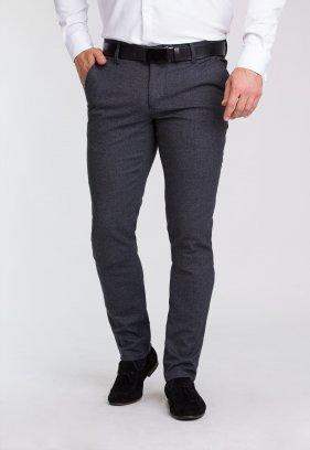 Брюки Trend Collection 20895 Серый+синий принт