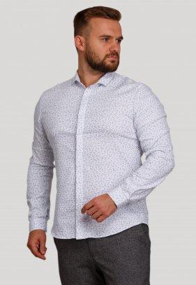 Рубашка Trend Collection BAT 20358 Белый+узор V01