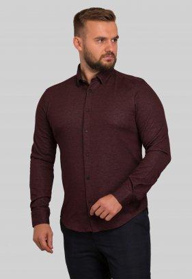 Рубашка Trend Collection 10368 Бордо V03