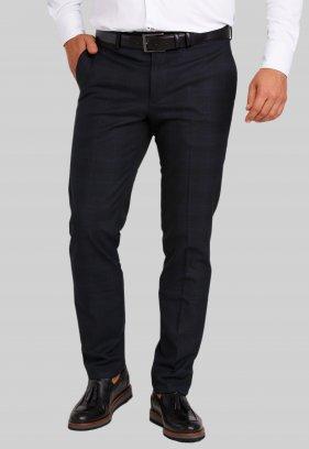 Брюки Trend Collection 974 Темно-синий+синяя полоска №4