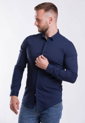 Рубашка Trend Collection 3414 Синій