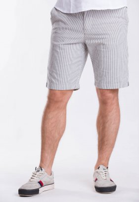 Шорты Trend Collection 12373 Серый+белая полоска (GRI)