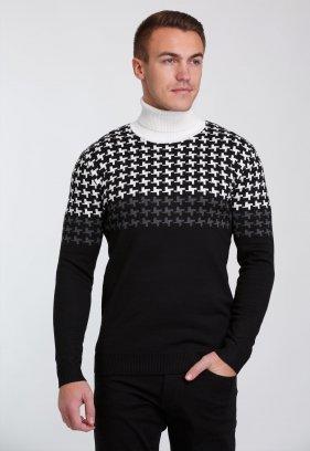 Гольф Trend Collection 7145 Черный+белый пазл