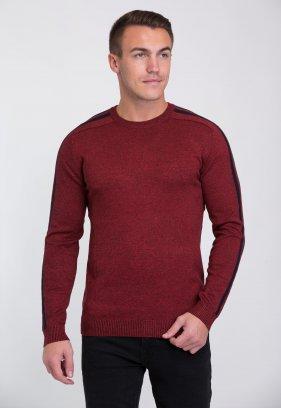 Свитер Trend Collection 6947 Красный+серый V059