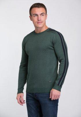 Свитер Trend Collection 6947 Зеленый + синий V062