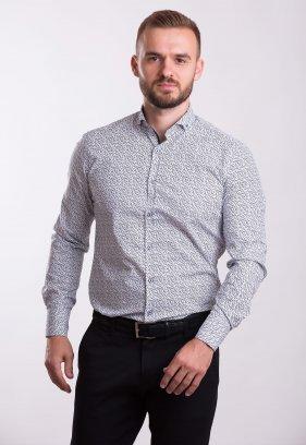 Рубашка TREND COLLECTION 0013 Белый+черный