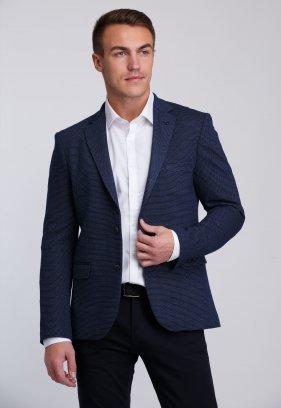 Пиджак Trend Collection 2026 Темно-синий+ точка