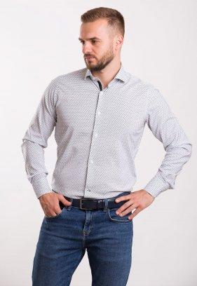 Рубашка Trend Collection 02-1061 Белый+треугольник