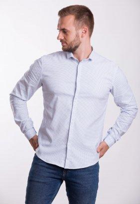 Рубашка Trend Collection 19132 Небесный+точка