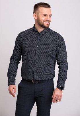 Рубашка Trend Collection 32284 Черный+полоска