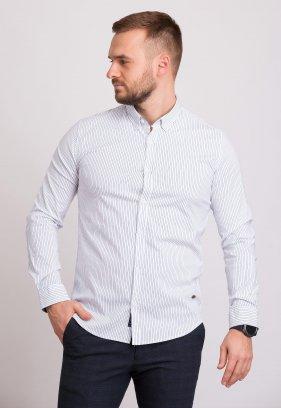 Рубашка Trend Collection 32284 Белый+полоска