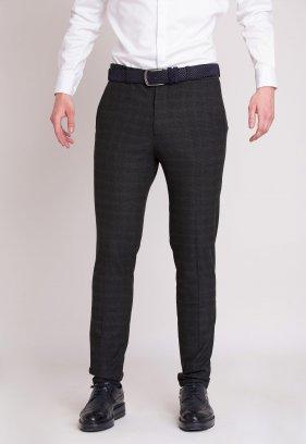 Брюки Trend Collection 903 Серый+клетка №1